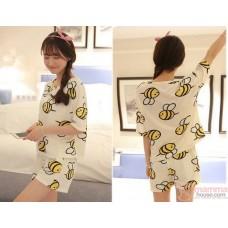 Mamma Pajamas - Short Bees