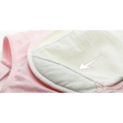 X Nursing Bra - Front Cross Beige Pink