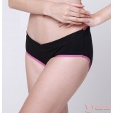 Maternity Panties - V Line Pink Dark Blue
