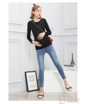 Maternity Jeans - Slim 9 Blue