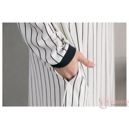 Nursing Set - Vert 07 Dress LONG (plus baby romper)