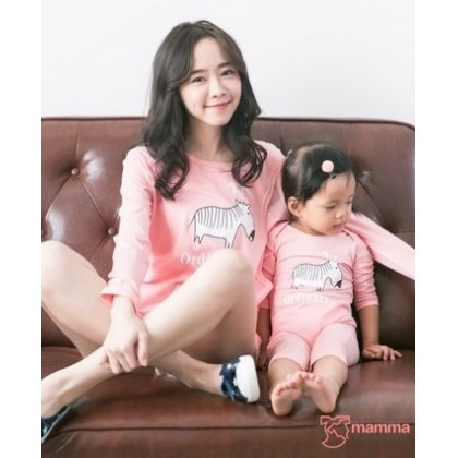 Nursing Set - Ordinary Pink Long (plus baby romper)