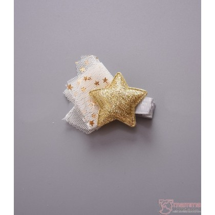 Baby Hair Clip - Star Lace (2 colors/pc)