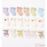 Baby Socks - Korean 6 design 3pairs (1 set)