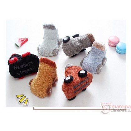 Baby Socks - Korean Cars (0-1yr)