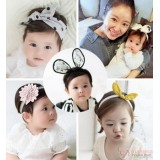 Baby Headband - Korean Ribbon Flower (6 design)