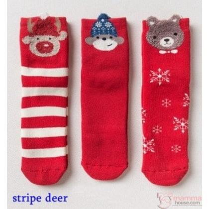 Baby Socks - Box X'mas (3 pairs set)