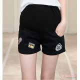 Maternity Shorts - Cool Black Badge