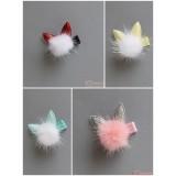 Baby Hair Clip - Kitten Ball (4 colors)