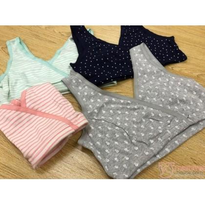 X Nursing Bra - JP Cotton Sleeping Bra (10 colors)