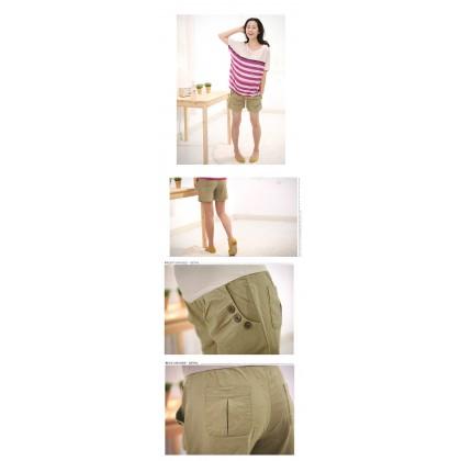 Maternity Shorts - Khaki Shorts (size S,M-XL)