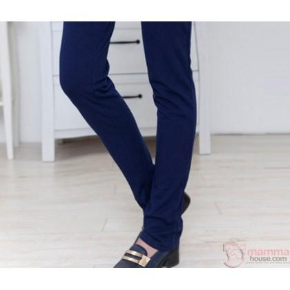Maternity Pants - Working Long Dark Blue (S~XXXL)