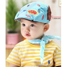 Baby Cap - Batman Light Blue