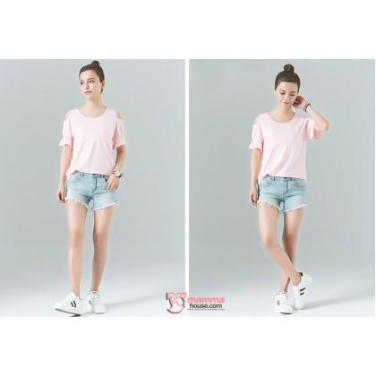 Nursing Tops - Strapless Pink