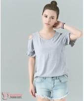 Nursing Tops - Strapless Grey