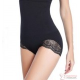 Slimming - Panties High Waist Lace Black