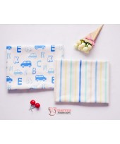 Baby waterproof mat - JP Cars Blue (2pcs set)