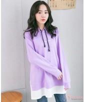 Nursing Tops - Long Purple Sweet