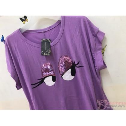 Maternity Tops - Charm Purple
