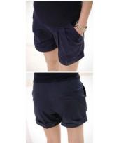 Maternity Shorts - Korean Black