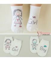 Baby Socks - Korean Boy or Girl