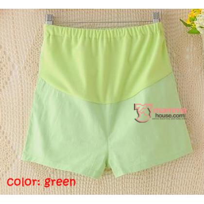 Maternity Shorts - Mini Mini Green SHINE