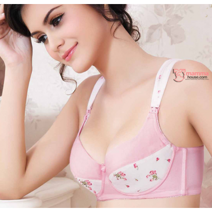 T Nursing Bra - Wired Bra OFFER set 3pcs (random color)