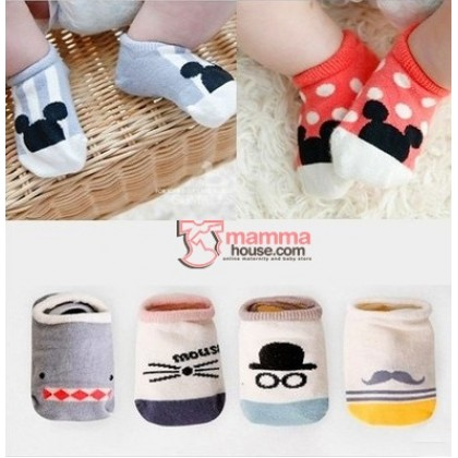 Baby Socks - Korean 6 choices