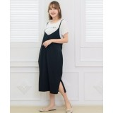 Nursing Dress - 2pcs Bell Dress Black