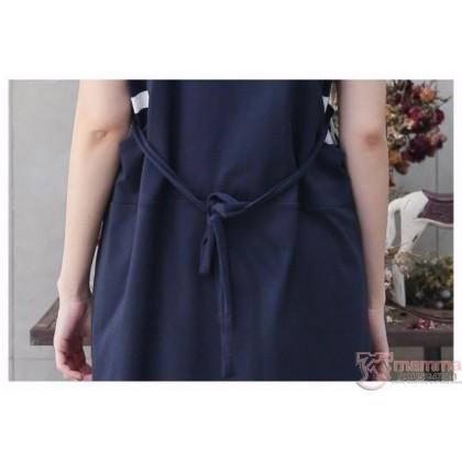 Nursing Set - Strap Dark Blue (plus baby romper)