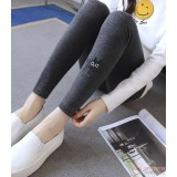 Maternity Legging - Long Kitten Dark Grey