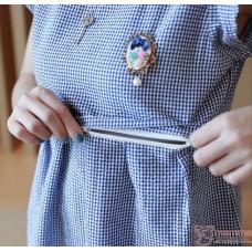 Nursing Tops - Badge Pearl Blue