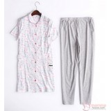 Mamma Pajamas - JP Cartoon Pink