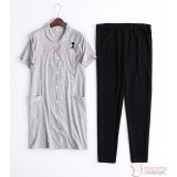 Mamma Pajamas - JP Snoopy Tops Grey