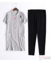 Mamma Pajamas - JP Snoopy Tops Grey