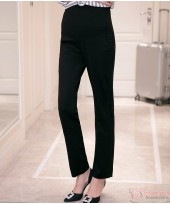 Maternity Pants - Working Slack Black