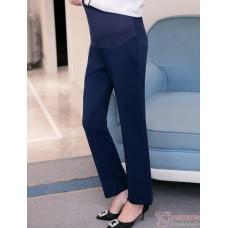 Maternity Pants - Working Slack Dark Blue