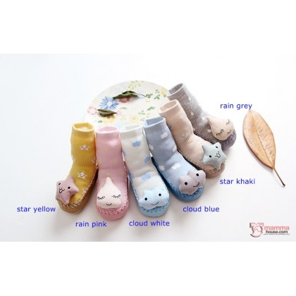 Baby Shoes - Rain Series Socks Style