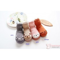 Baby Shoes -  Cute Back 4 Socks Style