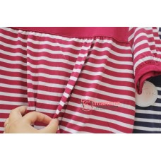 Mamma Pajamas - JP Stripe Short Blue