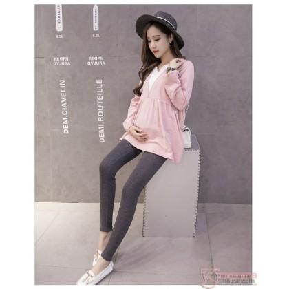 Maternity Legging - Low Waist Dark Grey
