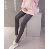 Maternity Legging - Low Waist Dark Grey