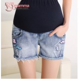 Maternity Shorts - Beard Jeans Short