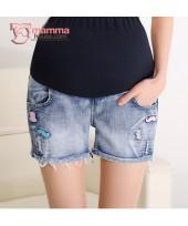 Maternity Shorts - Beard Jeans Short
