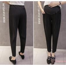 Maternity Pants - Working Slim Line Black (S,M~XXL)