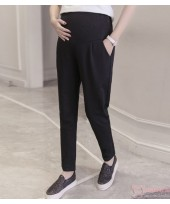 Maternity Pants - Working Straight Black (S,M~XXL)