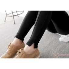 Maternity Legging - Lines Black