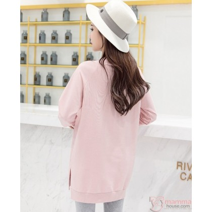 Maternity Blouse - Sweet Pink