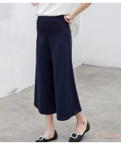 Maternity Pants - Working Slack Palaso Dark Blue (S,M~XXL)