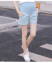 Maternity Shorts - Blue Shorts Cool